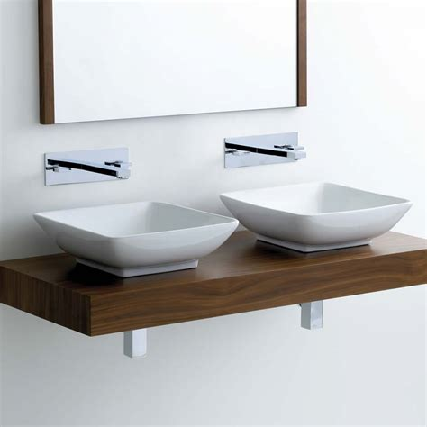 Countertop Wash Basins Uk by Square Countertop Washbasin Vb013 Uk Bathrooms
