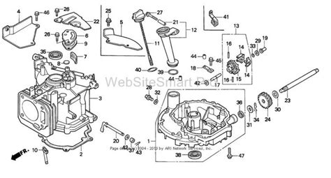 diagram of a lawn mower engine honda lawn mower engine schematic get free image about