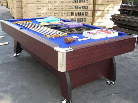 8ft Pool Table Dimensions by Pool Table 8ft Pub Size Snooker Billiard Table Blue