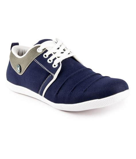 sneaker for gs blue smart casuals shoes buy gs blue smart casuals