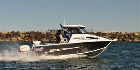 trident boats boat listing quintrex 650 trident hard top