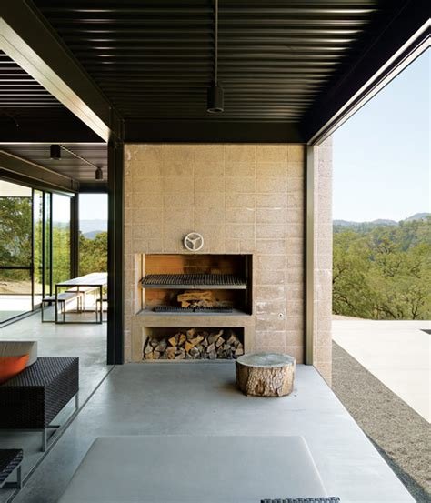 modern outdoor fireplace 12 amazing modern outdoor fireplaces design milk