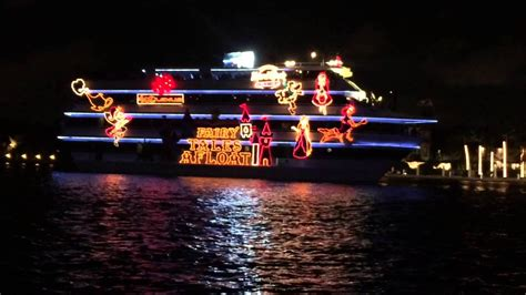 fort lauderdale christmas boat parade fort lauderdale christmas boat parade youtube