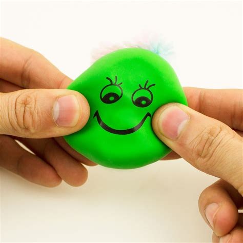 smiley face squeeze ball mini stress ball hand exercise