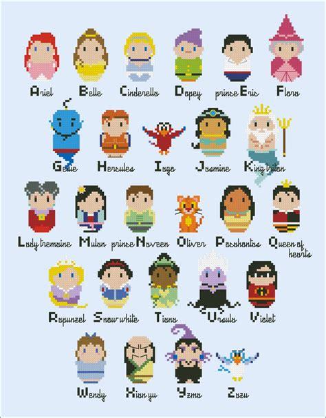 Disney Character Letter Y disney character alphabet