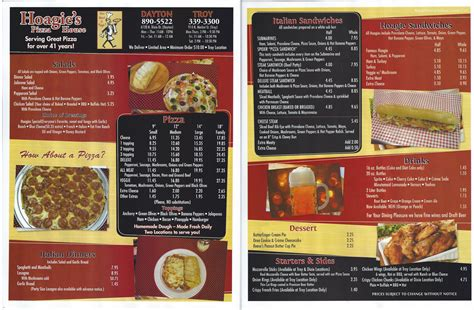 Submarine House Menu by Restaurant Menu Menupix
