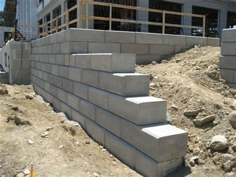 concrete retaining wall blocks kbdphoto