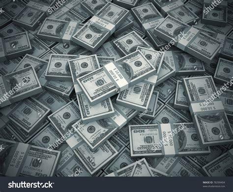 bid stock money background big pile stock illustration 78299404