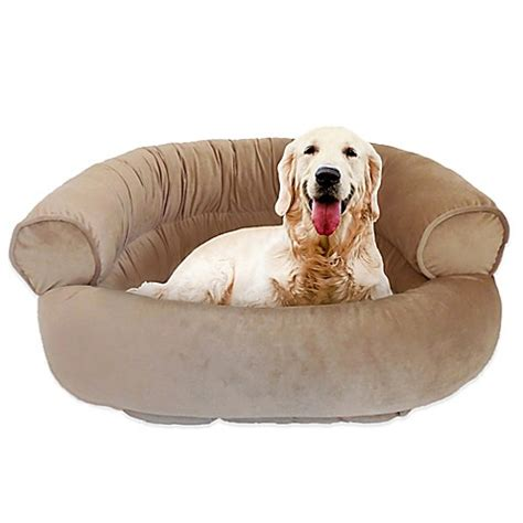orthopedic dog sofa bed pawslife orthopedic couch pet bed bed bath beyond