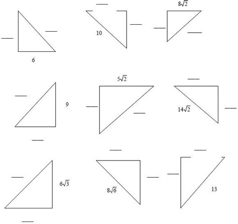 45 45 90 Triangle Worksheet 45 45 90 triangle worksheet quotes