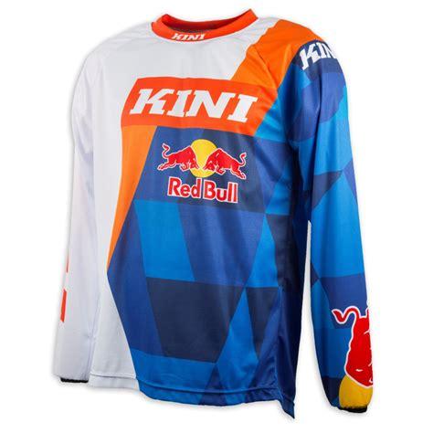 red bull motocross jersey kini red bull jersey vintage orange blau 2018 maciag offroad