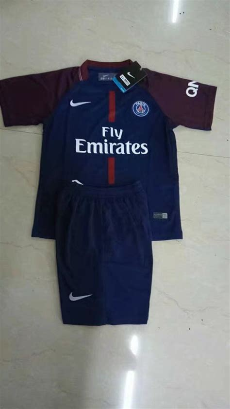 Jerman Home Kid World Cup 2018 jersey psg home 2017 2018 jersey bola grade ori murah