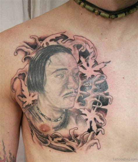 45 classy portrait tattoos on chest
