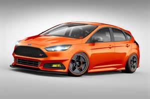 Ford Focus Performance Modified Ford Focus St St Cars Heat Up Sema