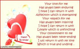birthday poems for wife wishesmessages com