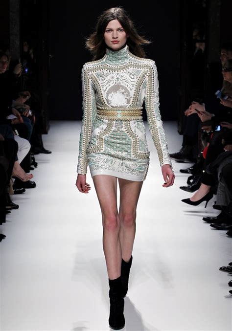 Frock Horror Of The Week Catwalk 11 by Balmain Fall 2012 Rtw Collection