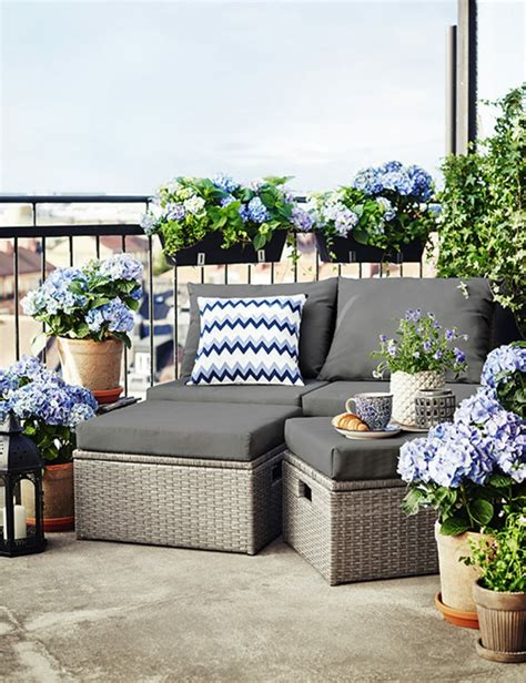 ideen zum thema stilvollen kleinen balkon gestalten