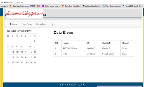 membuat website versi mobile dengan bootstrap crud mysql dengan php dan bootstrap sedot code php free