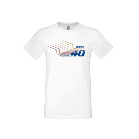 Kaos T Shirt Sparco Racing t shirt 40th sparco racing motor shop