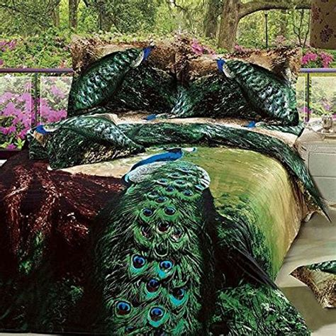 peacock theme bedroom awesome peacock bedding sets for a cool bedroom