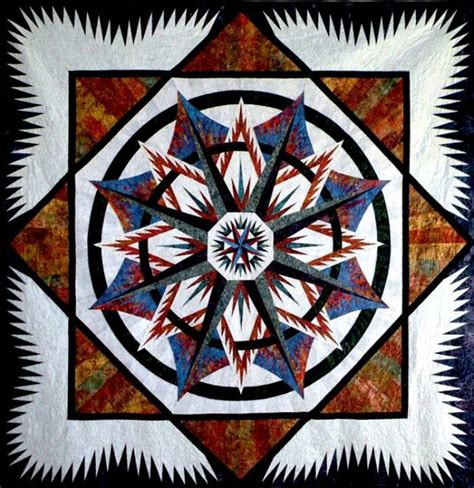edredones mandalas mariners compass judy niemeyer mariner s compass