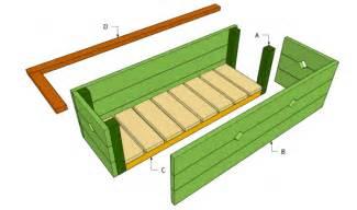 flower box plans myoutdoorplans free woodworking plans