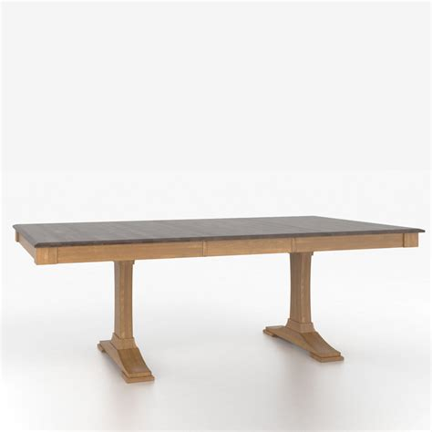 Canadel Dining Table Canadel Tre4868xd 1 Custom Dining Classic Traditional Transitional Rectangular Table With