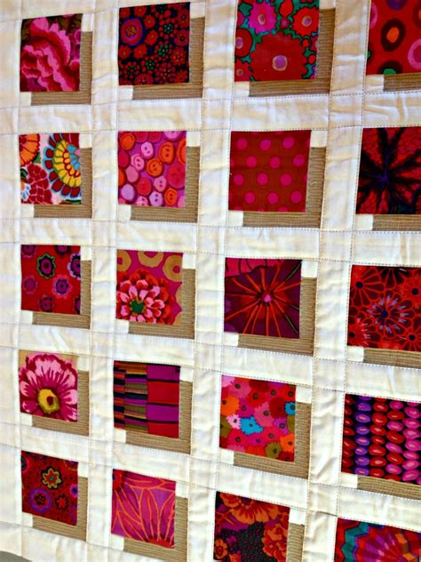 quadrate patchwork decke häkeln studio dragonfly shadow blocks mini a finished quilt