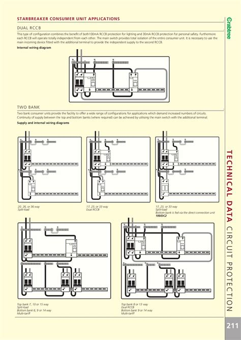 crabtree elcb wiring diagram