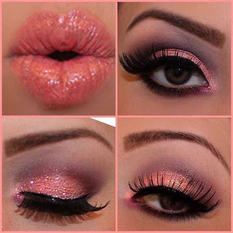 imagenes de ojos y labios maquillados las 25 mejores ideas sobre maquillaje de color coral en