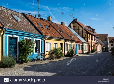 buy house in sweden nice colourfull houses in ystad sweden stock photo royalty free image 59893130 alamy