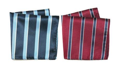 Striped Pocket Square mens striped pocket square handkerchief by ctm