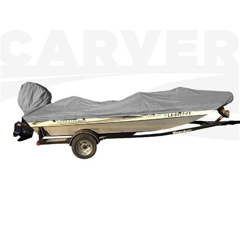 carver boat covers carver covers styled to fit boat cover for jon style bass