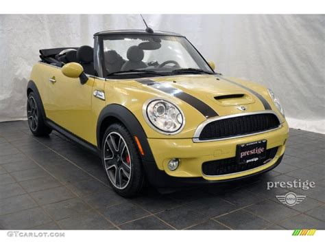 Mini Cooper Yellow by Interchange Yellow 2010 Mini Cooper Cooper Works