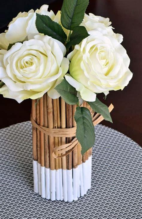 cara membuat kerajinan vas bunga contoh kerajinan tangan dari bambu yang mudah vas bunga