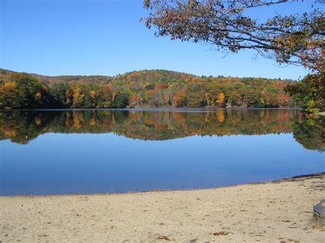 ashfield lake house ashfield ma ashfield lake in autumn photo picture image massachusetts at city