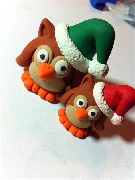 polymer clay christmas holiday decoration family holiday