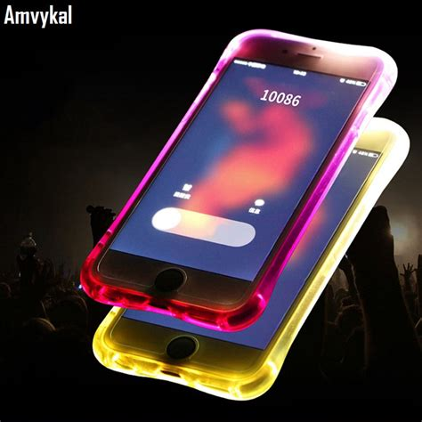 amvykal for iphone x xr xs max 6s 7 8 plus led flash light reminding remind incoming