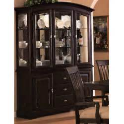 Modern Dining Room Buffet And Hutch China Cabinet Cappuccino Formal Dining Room