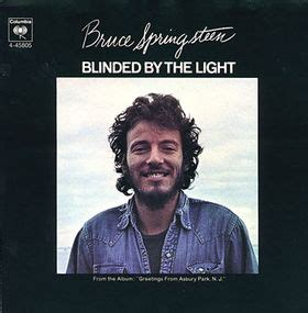 blinded by the light bruce springsteen free piano
