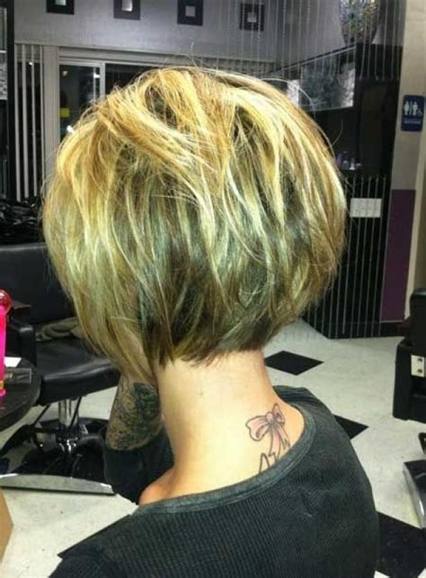 15 best back view of bob haircuts short hairstyles 2017 2018 popular short inverted bob haircut back view
