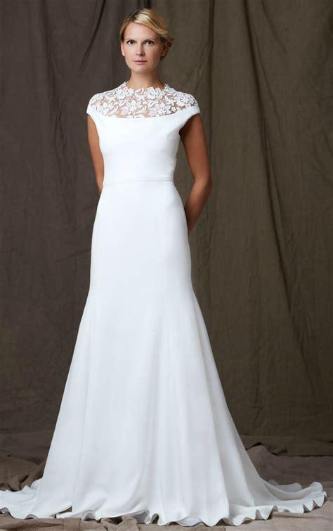 Bateau Wedding Dress by Lelea 2012 Wedding Dress Bateau Neck A Line Onewed