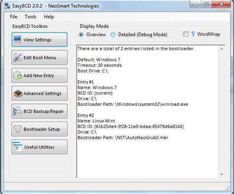 membuat grub facebook memperbaiki grub bootloader sistem operasi dengan easybcd