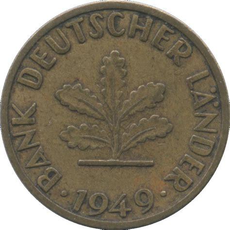 bank deutscher länder 1949 5 pfennig bank deutscher l 228 nder allemagne r 233 publique
