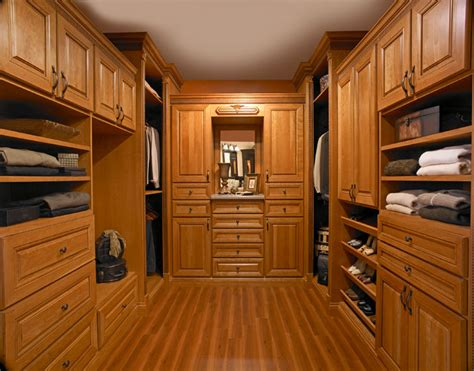 Custom Wood Closet by Custom Closets Avanti Closets