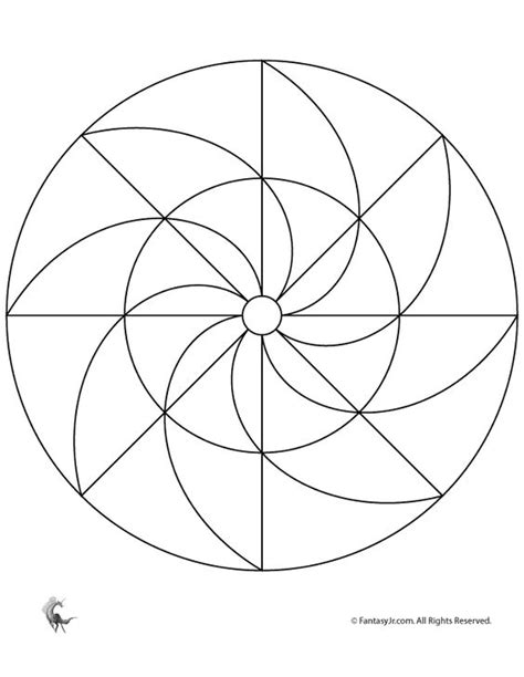 simple pattern mandala simple mandalas for kids easy printable mandala fantasy