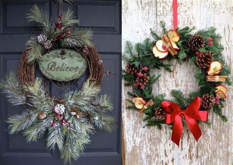 wreath decorations 30 christmas wreaths decorating ideas to try now feed inspiration