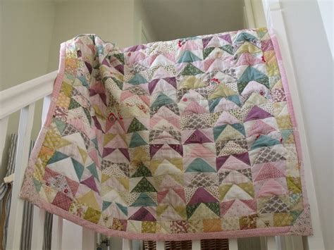 patchwork quilt handmade quilt cover baby girl patchwork