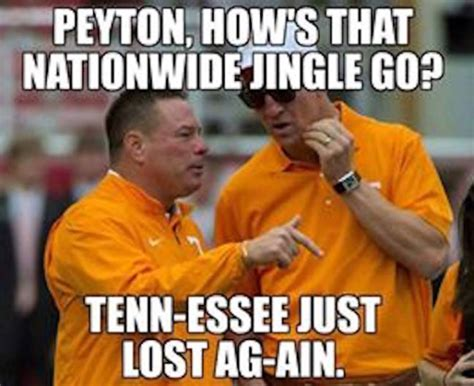 Tennessee Vols Memes - best tennessee football memes from the 2015 season