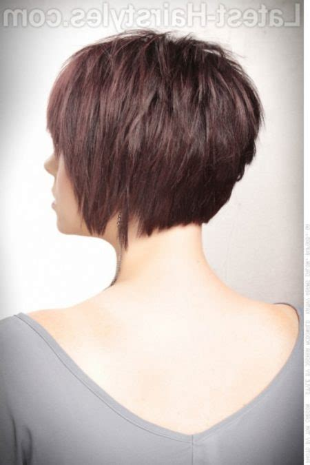 The Elegant concave short bob hairstyles Intended for